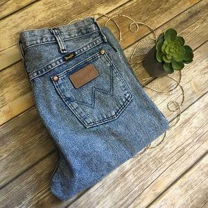 Acid Wash Vintage Wrangler Jeans